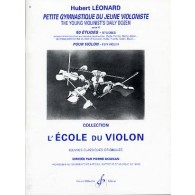 LEONARD H. PETITE GYMNASTIQUE DE JEUNE VIOLONISTE