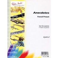 PROUST P. ANECDOTES COR EN FA