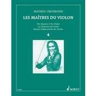 CRICKBOOM M. LES MAITRES DU VIOLON VOL 4