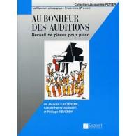 AU BONHEUR DES AUDITIONS PIANO