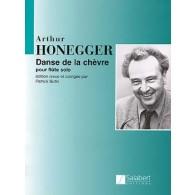 HONEGGER A. DANSE DE LA CHEVRE FLUTE SOLO