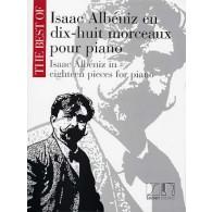 ALBENIZ I. EN 18 MORCEAUX PIANO
