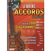 GUILLEMINOT P. LE DICO DES ACCORDS GUITARE