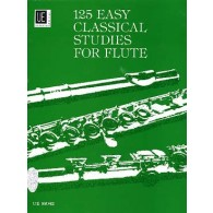 VESTER 125 EASY CLASSICAL STUDIES FLUTE