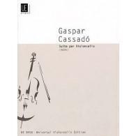 CASSADO G. SUITE (1926) VIOLONCELLE