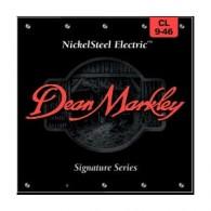 PACK DE 12 JEUX DE CORDES DEAN MARKLEY NICKELSTEEL ELECTRIC CL 9-46