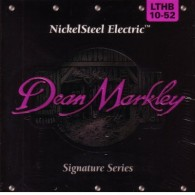 PACK DE 12 JEUX DE CORDES DEAN MARKLMEY NICKELSTEEL ELECTRIC LTHB 10-52