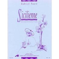 FAURE G. SICILIENNE OP 78 VIOLONCELLE OU VIOLON