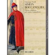VERDI  G. SIMON BOCCANEGRA CHANT
