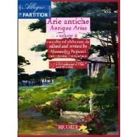 PARISOTTI A . ARIE ANTICHE VOL 4 CHANT PIANO
