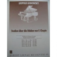 GODOWSKY L. ETUDES D'APRES CHOPIN VOL 5 PIANO