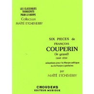 COUPERIN F. PIECES HARPE