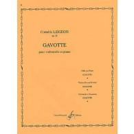 LIEGEOIS C. GAVOTTE OP 25 N°2 VIOLONCELLE