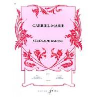 GABRIEL-MARIE J. SERENADE BADINE VIOLONCELLE