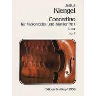 KLENGEL J. CONCERTINO N°1 OP 7 VIOLONCELLE
