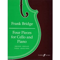 BRIDGE F. FOUR PIECES VIOLONCELLE