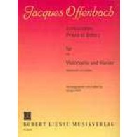 OFFENBACH J. INTRODUCTION, PRIERE ET RONDO OP 22  VIOLONCELLE