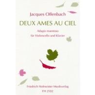 OFFENBACH J. 2 AMES AU CIEL VIOLONCELLE
