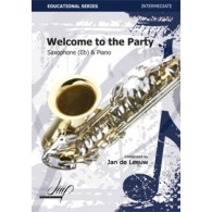 DE LEEUW J. WELCOME TO THE PARTY SAXO ALTO