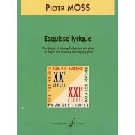 MOSS P. ESQUISSES LYRIQUES BASSON