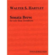 HARTLEY W.S. SONATA BREVE TROMBONE BASSE SOLO