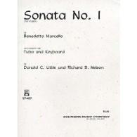 MARCELLO B. SONATE N°1 TUBA