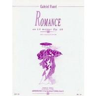 FAURE G. ROMANCE OP 69 VIOLONCELLE