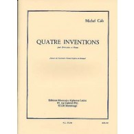 CALS M. 4 INVENTIONS PERCUSSIONS