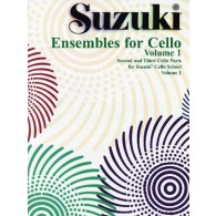 SUZUKI ENSEMBLE FOR CELLO VOL 1