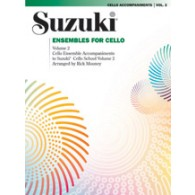 SUZUKI ENSEMBLE FOR CELLO VOL 2