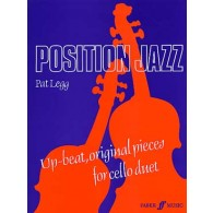 LEGG P. POSITION JAZZ FOR CELLO DUET