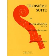 MARAIS MARIN 3ME SUITE VIOLONCELLE