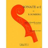 ROMBERG B. SONATE OP 43 N°2 VIOLONCELLE