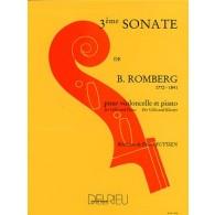ROMBERG B. SONATE OP 43 N°3 VIOLONCELLE