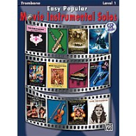 EASY POPULAR MOVIE INSTRUMENTAL SOLOS TROMBONE