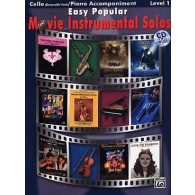 EASY POPULAR MOVIE INSTRUMENTAL SOLOS VIOLONCELLE