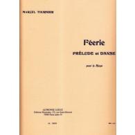 TOURNIER M. FEERIE: PRELUDE ET DANSE HARPE