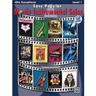 EASY POPULAR MOVIE INSTRUMENTAL SOLOS ALTO SAX