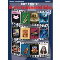 EASY POPULAR MOVIE INSTRUMENTAL SOLOS TENOR SAX