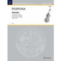 PORPORA N. SONATA VIOLONCELLE