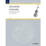 ZOCARINI M. CONCERTINI VOL 2 VIOLONCELLE
