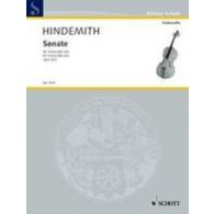HINDEMITH P. SONATA OP 25/3 VIOLONCELLE