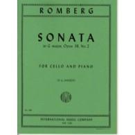 ROMBERG B.H. SONATE N°2 VIOLONCELLE