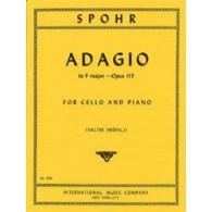SPOHR L. ADAGIO OP 115 VIOLONCELLE