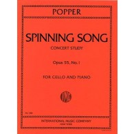 POPPER D. SPINING SONG OP 55 N°1 VIOLONCELLE