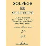 SOLFEGE DES SOLFEGES VOL 2A AVEC PIANO