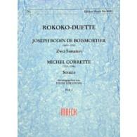 BODIN DE BOISMORTIER J. ROKOKO DUETTE VOL 2 2 CELLOS