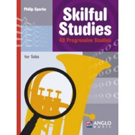 SPARKE P. SKILFUL STUDIES TUBA EN UT