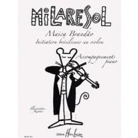 BRANDAO M.MILARESOL ACCOMPAGNEMENT PIANO
