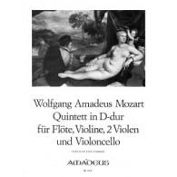 MOZART W.A. QUINTETTE RE MAJEUR